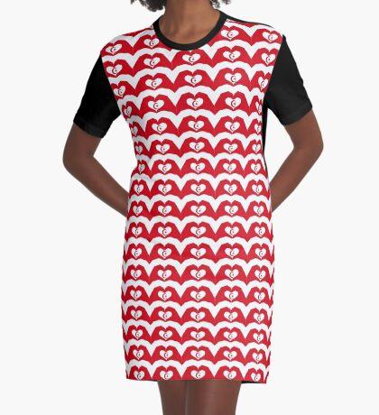 We Heart Islam Patriot Series Graphic T-Shirt Dress