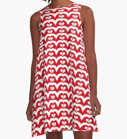 We Heart Islam Patriot Series A-Line Dress