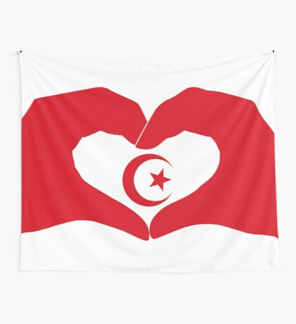 We Heart Islam Patriot Series Wall Tapestry