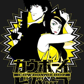 Spike Spiegel and Faye Valentine by itsitasil