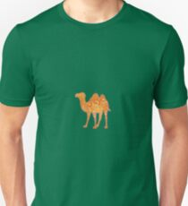 Camel in Warm Colours (Reuploaded) Unisex T-Shirt