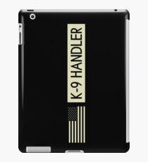 K-9 Handler (Black Flag) iPad Case/Skin