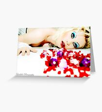 I Puke Glamour II Greeting Card