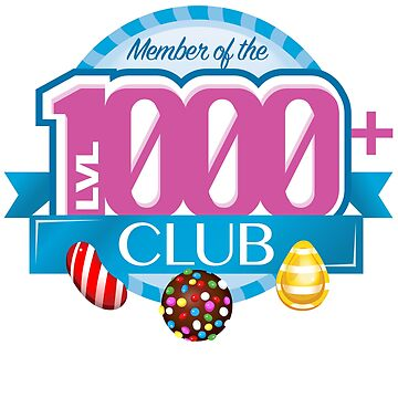 Member of the Level 1000 CLUB by JohnBealDesign