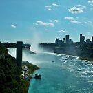 Niagara Falls 16.0 - New York by clarebearhh