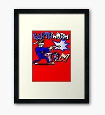Earthworm Ten Framed Print