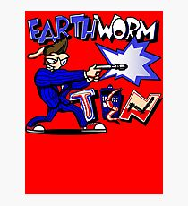 Earthworm Ten Photographic Print