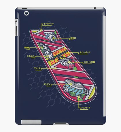 Hoverboard Anatomy iPad Case/Skin