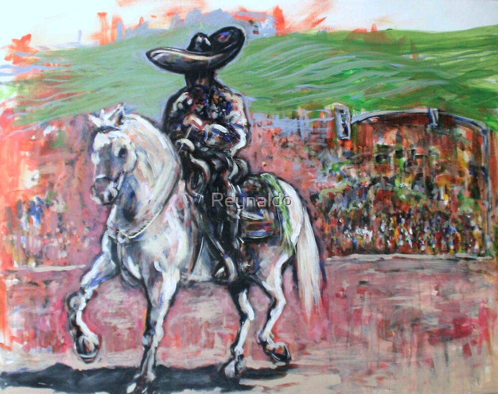 Charro Negro Going Home  by Reynaldo