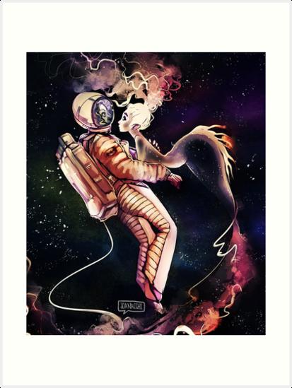 Space Mermaid by joanacchi
