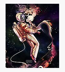 Space Mermaid Photographic Print