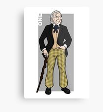 Doctor Who - The First Doctor  Metal Print