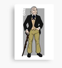 Doctor Who - The First Doctor  Canvas Print