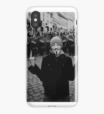 Guy Fawkes Protester iPhone Case