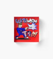 Earthworm Ten 2 Acrylic Block