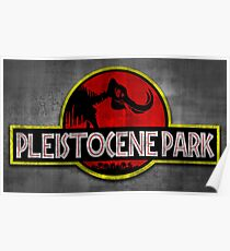 Pleistocene Park Poster
