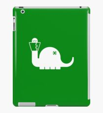 White Dinosore iPad Case/Skin