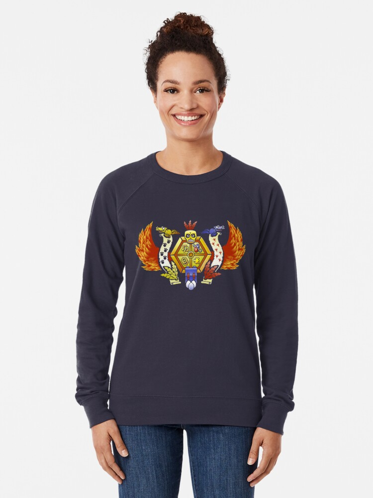 Alternative Ansicht von Treasure Hunters Crest (REVAMPED) Leichter Pullover