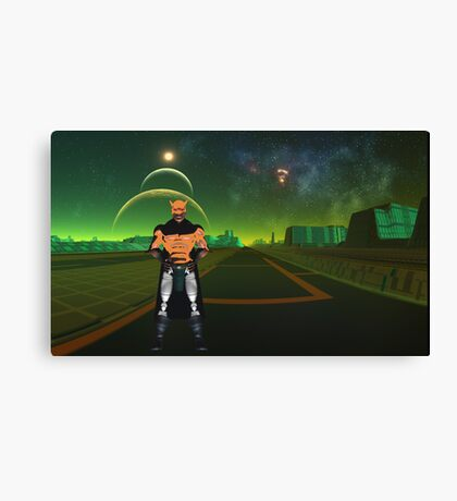 We are Cy-Borg Canvas Print