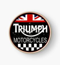 triumph motorcycles Clock