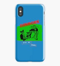 Dingoes Ate My Baby iPhone Case/Skin