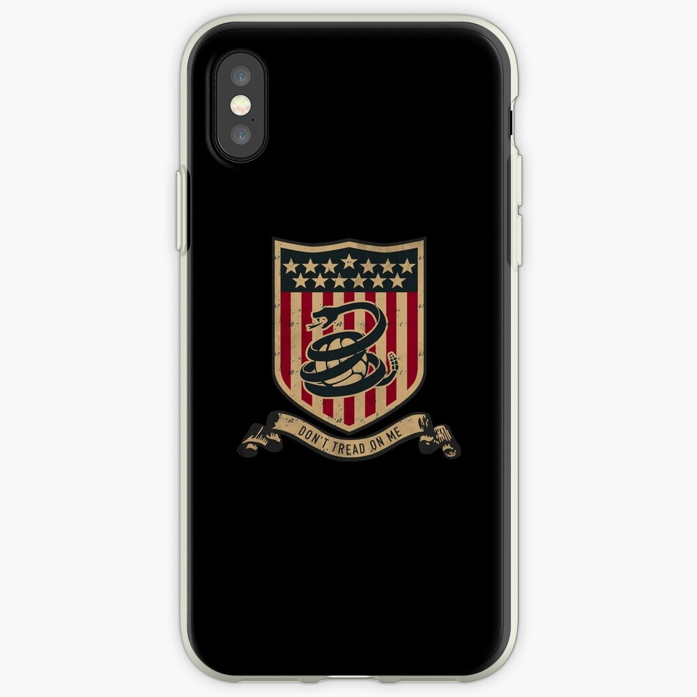Don't Tread On Me Soccer - Don Tread On Me iPhone Cases & Covers