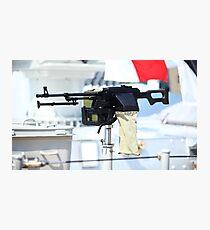 kalashnikov heavy machine gun Photographic Print