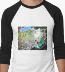 ECHEVERIA IN BLOOM Men's Baseball ¾ T-Shirt