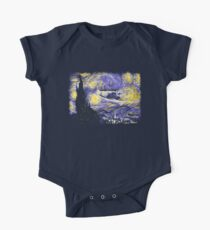 Starry Time Travel Kids Clothes