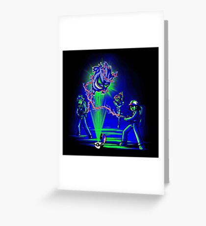 Pokebusters! Greeting Card