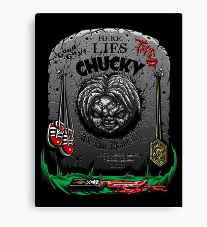 The Legacy of Chucky Canvas Print