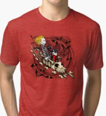Calvydia and Beetlehobbes (Light Shirts) Tri-blend T-Shirt