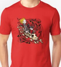 Calvydia and Beetlehobbes (Light Shirts) Unisex T-Shirt