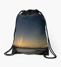 Sunset at Point Walter Reserve, Bicton, W.A. Drawstring Bag