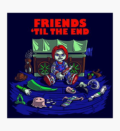 Friends 'Til The End Photographic Print