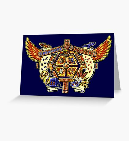 Treasure Hunters Crest Greeting Card