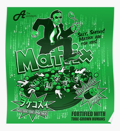 Matrix Cereal Poster