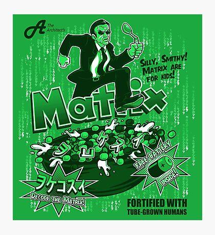 Matrix Cereal Photographic Print