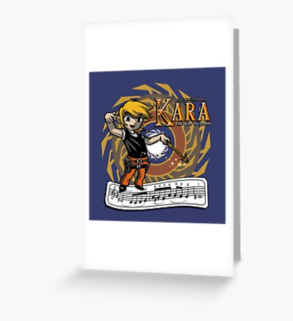 The Legend of Kara Greeting Card