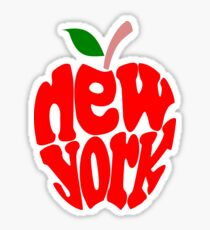 Big Apple New York Sticker