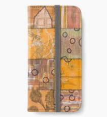 God Looks out upon its Universe iPhone Wallet/Case/Skin