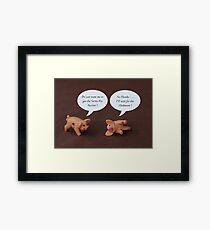 Swine Flu ? Framed Print