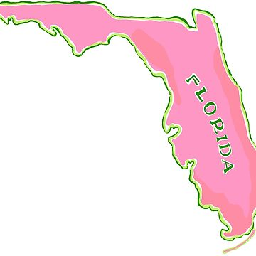 Florida map by jmac111