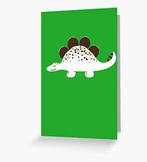 Coneasaurus Greeting Card