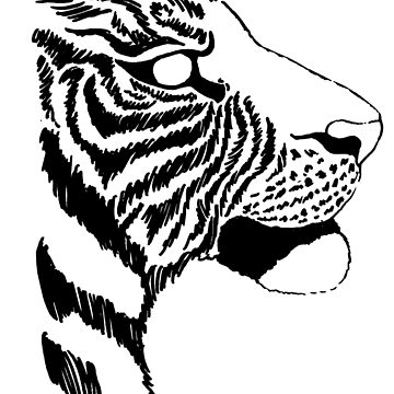 Inked Tiger by Kiluvi