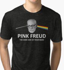 Pink Freud Dark Side Of Your Mom Tri-blend T-Shirt