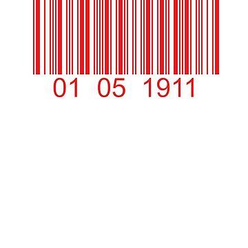 Kappa Barcode 01 05 1911 by AlienatedOpus