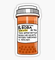 Boba Pills Sticker