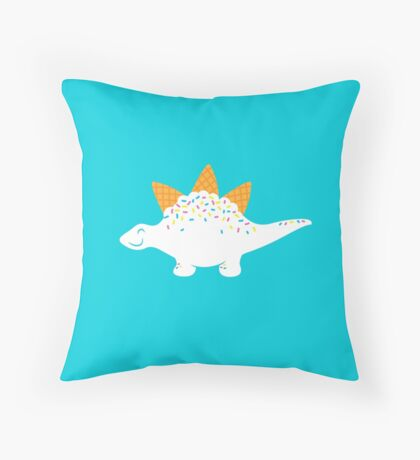 Coneasaurus Throw Pillow