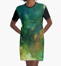 Drapes of Solitude Graphic T-Shirt Dress